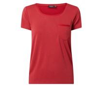 T-Shirt mit Rundhalsausschnitt Modell 'Columbine'