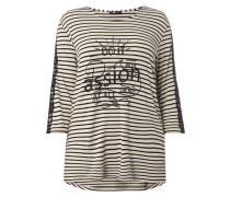 PLUS SIZE - Shirt mit Spitzenbesatz