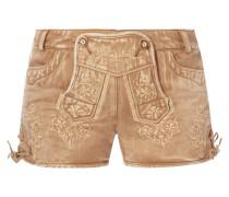 Shorts im Trachten-Look