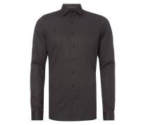 Body Fit Business-Hemd mit Under-Button-Down-Kragen