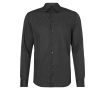 Regular Fit Hemd mit Allover-Muster