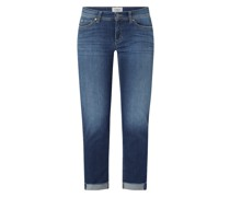 Cropped Jeans mit Stretch-Anteil Modell 'Piper'