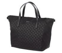 Handtasche mit Logo-Muster