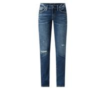 Straight Fit Jeans mit Stretch-Anteil Modell 'Suki'