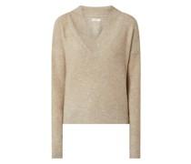 Pullover mit Glitter-Effekt Modell 'Naila'