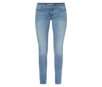 711 SKINNY - Stone Washed Skinny Fit Jeans