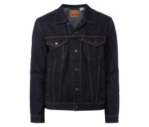 Rinsed Washed Jeansjacke