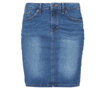 Stone Washed 5-Pocket-Jeansrock