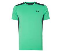 Fitted T-Shirt mit Kontrasteinsätzen