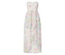 Off Shoulder Kleid mit Allover-Muster