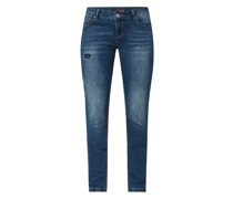 Jeans in schmaler Passform Modell 'Italy'