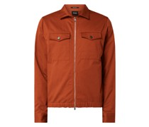 Regular Fit Jacke aus Baumwolle Modell 'Lawson'