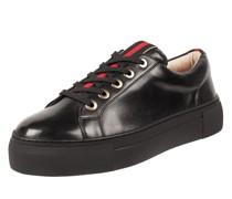 Plateau-Sneaker aus Leder Modell 'Mantua'