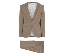 Skinny Fit Anzug mit 2-Knopf-Sakko