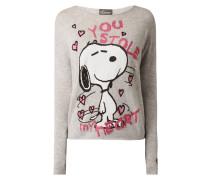 Pullover mit Snoopy©-Print und Ziersteinen