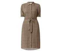 Blusenkleid aus Viskose Modell 'Zia'