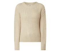 Pullover mit Alpaka-Anteil Modell 'Celena'