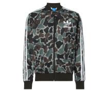 Trainingsjacke mit Camouflage-Muster