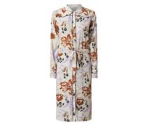 Blusenkleid mit floralem Muster Modell 'Vageo'