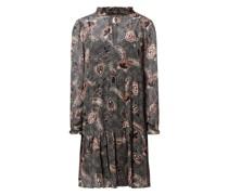 Kleid aus Viskose Modell 'Geo'