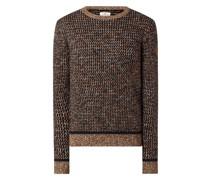 Pullover mit strukturiertem Muster