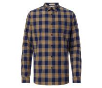 Modern Fit Freizeithemd aus leichtem Flanell