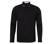 Body Fit Business-Hemd mit Button-Down-Kragen
