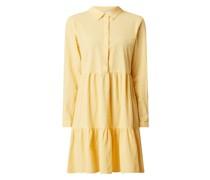 Kleid mit regulierbarer Ärmellänge Modell 'Kanaya'