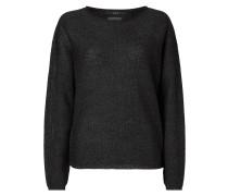 Pullover aus leicht schimmerndem Material