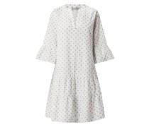 Minikleid mit Alllover-Muster
