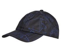 Schirmmütze mit Logo-Muster