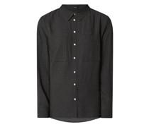 Bluse aus Viskose Modell 'Frilli'