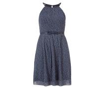 Kleid mit Collierkagen