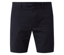 Slim Fit Chino-Shorts mit Stretch-Anteil