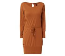 Kleid mit Taillengürtel Modell 'Soho'