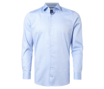 Slim Fit Business-Hemd mit New Kent Kragen