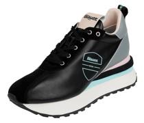 Sneaker Wedges aus Leder Modell 'Mabel'