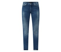 Skinny Fit Jeans mit Stretch-Anteil Modell 'Need'