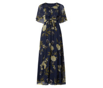 Maxikleid mit floralem Muster Modell 'Lucca'