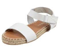 Sandalen aus echtem Leder mit Klettverschluss