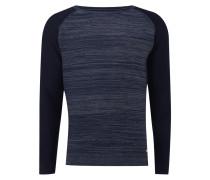 Pullover mit Raglanärmeln in Kontrastfarbe
