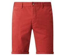 Regular Fit Chino-Shorts mit Stretch-Anteil Modell 'Pisa'