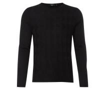 Pullover mit grafischem Zickzack-Muster