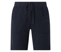 Shorts mit elastischem Bund Modell 'Kanaya'