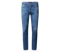Skinny Fit Regular Waist Jeans mit Stretch-Anteil Modell 'Jaz'