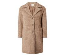 Mantel mit Reverskragen Modell 'Amelia'