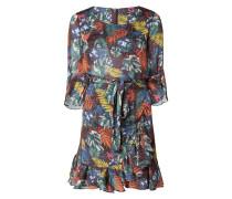 Kleid mit exotischem Muster