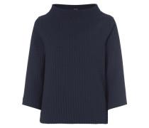 Sweatshirt mit strukturiertem Gittermuster