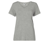 T-Shirt aus Micromodal-Elasthan-Mix