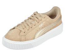 Sneaker 'Platform Safari' aus Leder